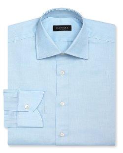 Canali  - Solid Dress Shirt
