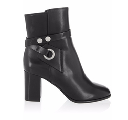Isabel Marant - Ashes Leather Ankle Boots