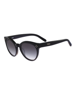 Chloe - Round Cat-Eye Sunglasses