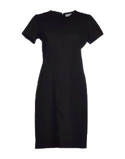 Jil Sander - Round Collar Short Dress