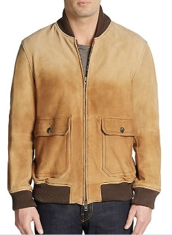 Gant By Michael Bastian - Lambskin Bomber Jacket