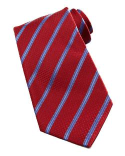 Stefano Ricci   - Dot-Stripe Silk Tie