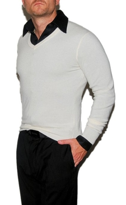 Polo Ralph Lauren - Cashmere V-Neck Pullover Sweater
