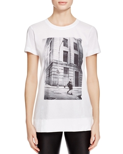Dkny - City Graphic Print Tee