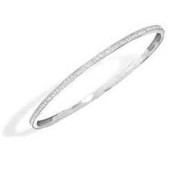 Wildfire Fashion - Crystal Bangle Bracelet