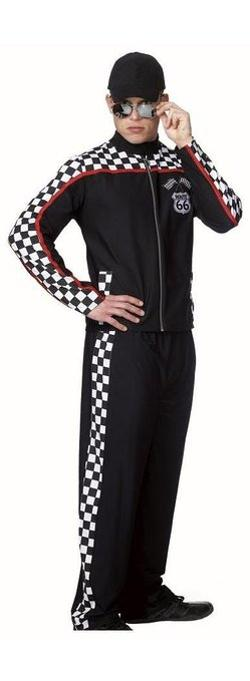 Coquette - Mens Nascar Guy Race Car Driver Outfit Costume Adult S/M