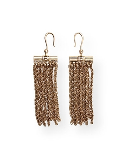 Lanvin - Fringe Drop Earrings