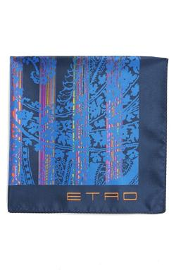 Etro - Print Silk Pocket Square