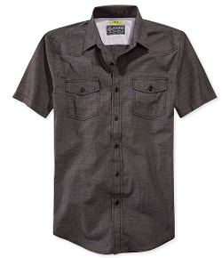 American Rag  - Slim-Fit Chambray Shirt