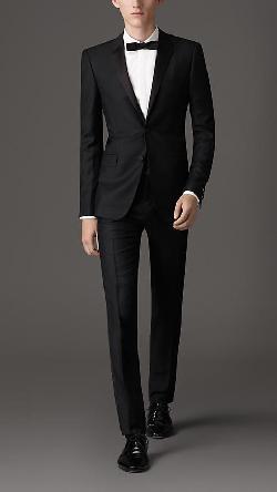 Burberry - Slim Fit Wool Mohair Tuxedo
