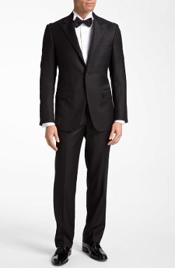 Hickey Freeman - Worsted Wool Tuxedo Suit