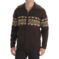 Boston Traders  - Patterned Wool Cardigan Sweater