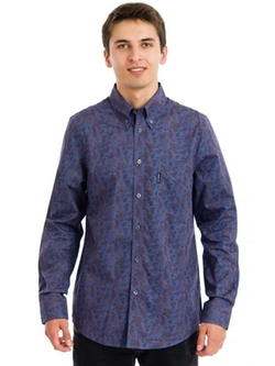 Ben Sherman  - Paisley Print Long Sleeve Shirt