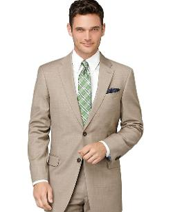 Tommy Hilfiger  - Jacket Tan Sharkskin Trim Fit