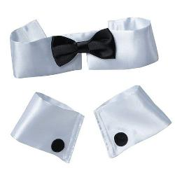 FORUM NOVELTIES INC. - Collar, Tie & Cuff Set Costume Kit