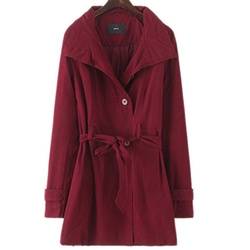 Generic - Double-Breast Belted Coat