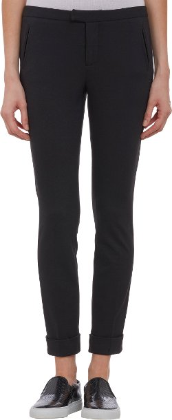 ATM Anthony Thomas Melillo   - Ponte Cuffed Slim-fit Trousers