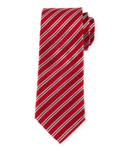 Davidoff - Icon Stripes Silk Tie