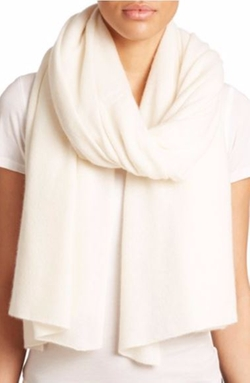 White + Warren  - Cashmere Travel Wrap Scarf