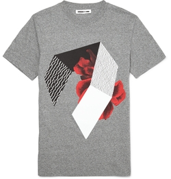 MCQ Alexander Mcqueen - Printed Cotton T-Shirt