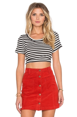 Minkpink - Strike Me Crop Top