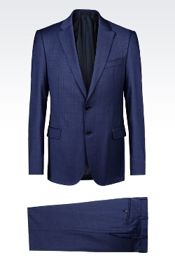 Giorgio Armani - Slim Fit Suit in Virgin Wool