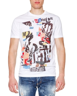 Dsquared2 - Logo-Patch Short-Sleeve Tee Shirt