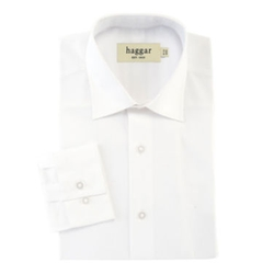 Haggar - Stretch Poplin Fitted Dress Shirt