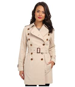 French Connection  - Smart Catch Belted Trench Coat
