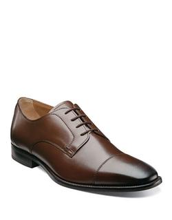 Florsheim - Sabato Leather Cap-Toe Oxford Shoes