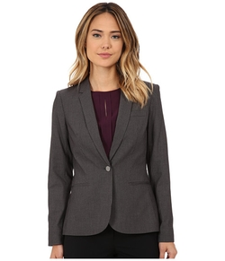 Calvin Klein - Pin Stripe One Button Jacket