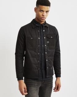 G-Star - Worker Black Padded Overshirt Jacket Black