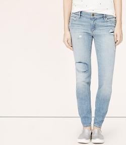 Loft - Modern Straight Leg Jeans