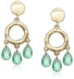 Karen Kane  - Shoreline Organic Drop Earrings