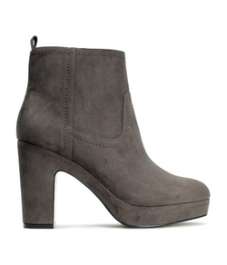H & M - Suede Ankle Boots