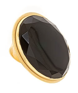 Bita Pourtavoosi - Black Onyx Chunk Ring