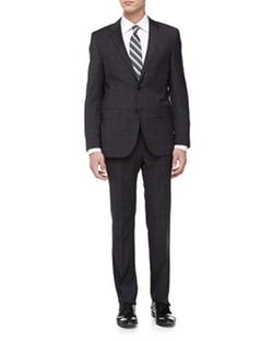 Hugo Boss - The James Glen Plaid Wool Suit