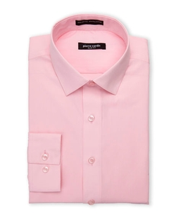 Pierre Cardin - Slim Fit Pink Dress Shirt