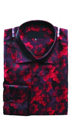 Sunrise Outlet - Large Floral Print Shirt