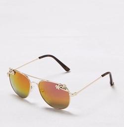 Aeo  - Palm Tree Aviator Sunglasses