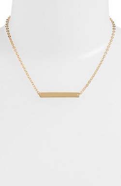 Nordstrom - Bar Pendant Necklace