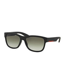 Prada  - Square Nylon Sunglasses