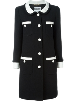 Moschino   - Peter Pan Collar Coat