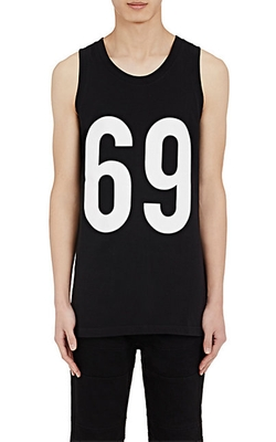 Hood By Air  - 69 Graphic Jersey Tank