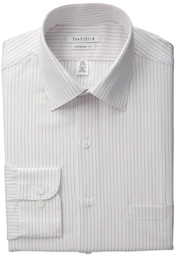 Van Heusen  - Regular Fit Variegated Stripe Shirt
