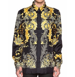 Versace - Silk Button Down Shirt