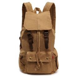 Deer Mum  - Casual Canvas Shoulder Bag Hiking rucksack