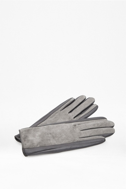 French Connection - Suede Leather Gloves