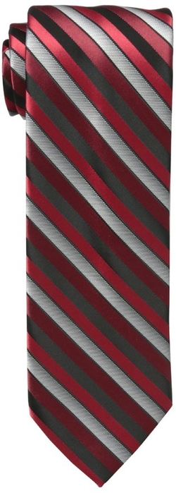 Haggar  - Satin Stripe Xl Tie