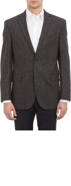 Barneys New York - Tweed Two-Button Sportcoat